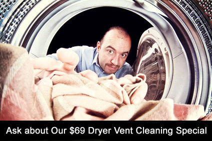 dryer vent cleaning Chicago promo