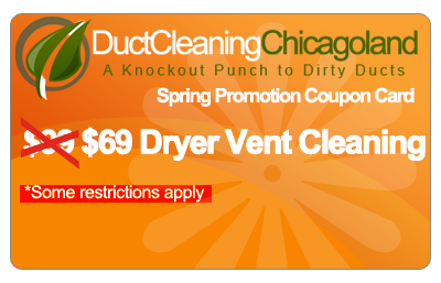 dryer vent cleaning Chicago coupon